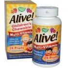 Natures Way, Alive витаминный комплекс для детей табл. №120