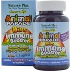 Natures Plus, Источник жизни, для детей для защиты иммунитета со вкусом тропических ягод